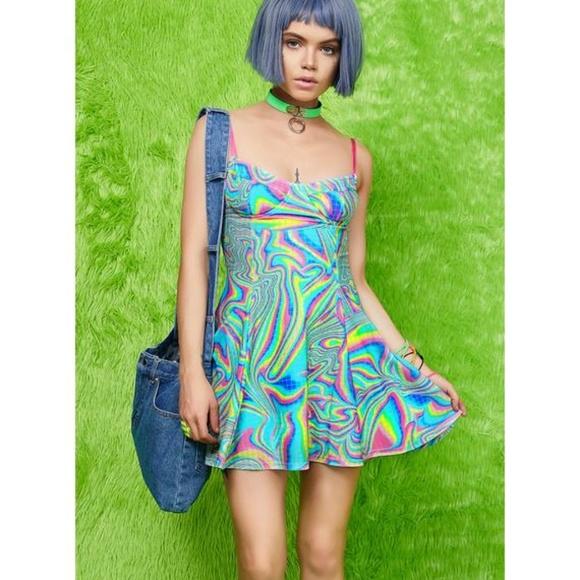 d6064926bb474 Current Mood Dresses | Totally Trippin Mini Dress | Poshmark